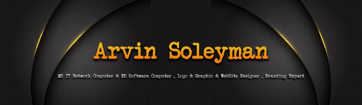 طراحی سایت وبسایت وب برند مهندس آروین سلیمانArvin soleyman computer Engineer Site web website brand