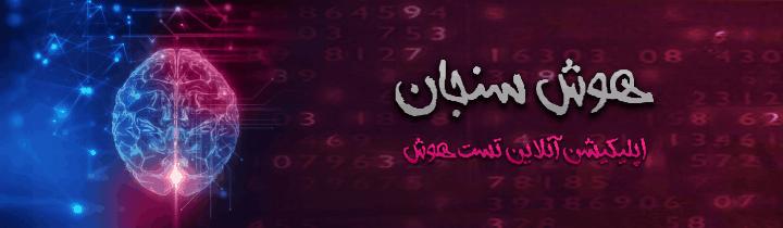 طراحی سایت وبسایت وب برند اپلیکیشن تست هوش سنجانHoosh Sanjan Site web website brand