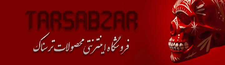 طراحی سایت وبسایت وب برند فروشگاه اینترنتی فروش محصولات ترسناکTars Abzar Site web website brand